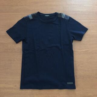 ブラックレーベルクレストブリッジ(BLACK LABEL CRESTBRIDGE)のブラックレーベル ネイビー Tシャツ サイズM(Tシャツ/カットソー(半袖/袖なし))