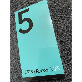 オッポ(OPPO)のOPPO Reno5 A 新品 ワイモバイル(スマートフォン本体)
