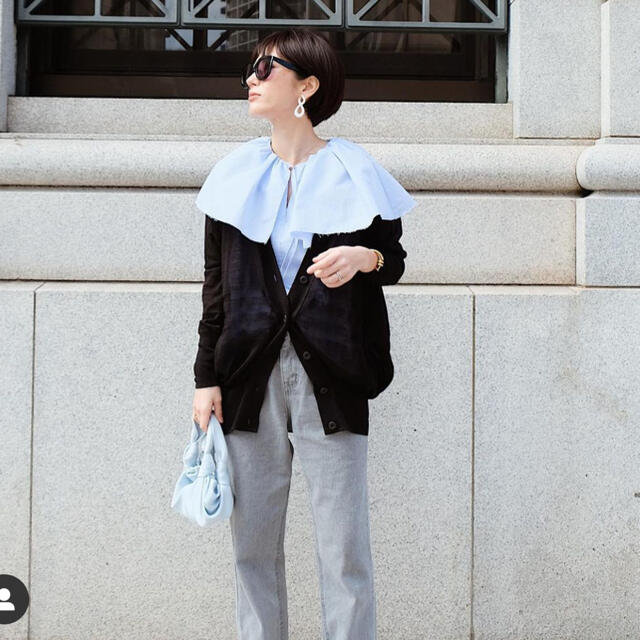 DEUXIEME CLASSE(ドゥーズィエムクラス)のmachatt over collar blouse☆マチャット レディースのトップス(シャツ/ブラウス(半袖/袖なし))の商品写真