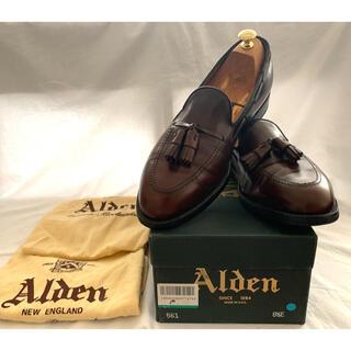 Alden - 美品 Alden タッセル ローファー 561 カーフ 563 664 8.5E