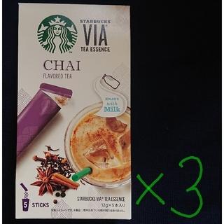 Starbucks Coffee - スターバックス ヴィア ティーエッセンス チャイ まとめ売り