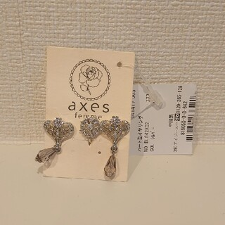 アクシーズファム(axes femme)のaxes femme ハート型イヤリング(イヤリング)