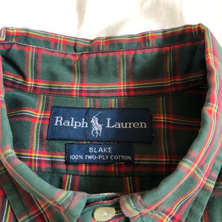 Ralph Lauren - 【Ralph Lauren】ボタンダウンシャツ