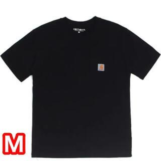 カーハート(carhartt)のSALE CARHARTT WIP 人気 ポケット付き Tシャツ 黒 Mサイズ(Tシャツ/カットソー(半袖/袖なし))