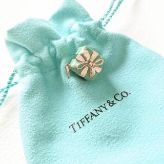 ティファニー(Tiffany & Co.)のティファニー ブルーボックス  ペンダントトップ チャーム シルバー エナメル(チャーム)