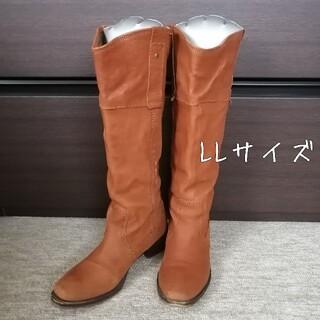 フレームワーク(FRAMeWORK)のmio notis☆ロングブーツ キャメルブラウン(ブーツ)