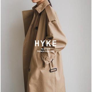 HYKE - HYKE ハイク オーバーサイズ ロング ビック トレンチコート