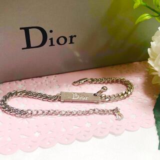 Dior - 【箱あり】 Dior ディオール ブレスレット シルバー
