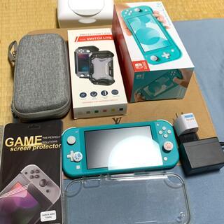 Nintendo Switch - Nintendo Switch light 本体 ターコイズ ブルー