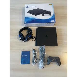 PlayStation4 - PlayStation4 1TB ジェットブラック