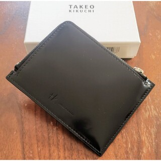 ティーケー(TK)のタケオキクチ 新品 メンズ フラグメントケース(ブラック)(コインケース/小銭入れ)