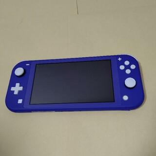 Nintendo Switch - Nintendo Switch Lite 本体のみ 新色 ブルー  スイッチライ