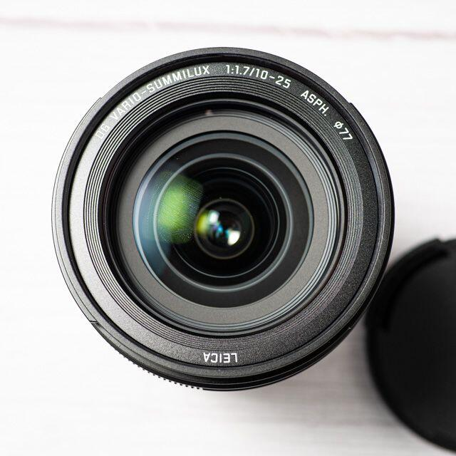Panasonic(パナソニック)の[美品] LEICA DG VARIO-SUMMILUX 10-25mm スマホ/家電/カメラのカメラ(レンズ(ズーム))の商品写真