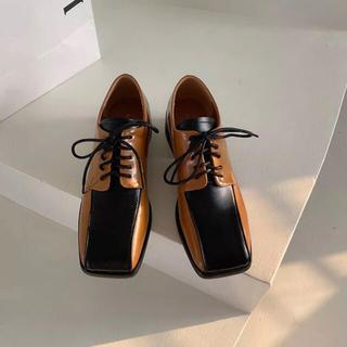 アメリヴィンテージ(Ameri VINTAGE)のスクエアローファー(ローファー/革靴)
