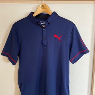 PUMA - PUMAゴルフ Lサイズ 涼しいポロシャツ