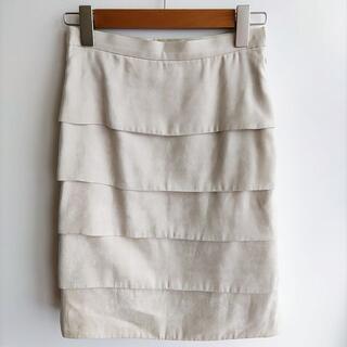 エムプルミエ(M-premier)のM-PREMIER ティアードスカート エムプルミエ(ひざ丈スカート)