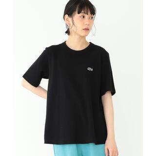 BEAMS BOY - LACOSTE×BEAMSBOY別注AラインクルーネックTシャツ
