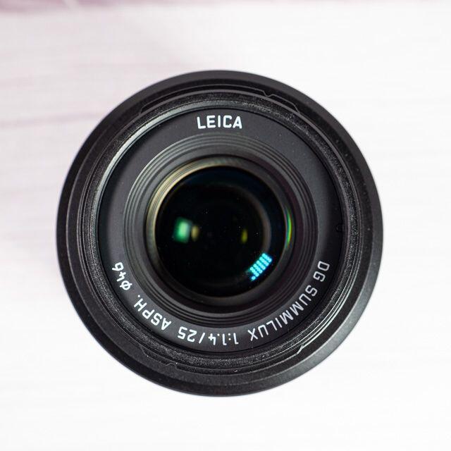 Panasonic(パナソニック)の[美品] LEICA DG SUMMILUX 25mm/F1.4 ASPH. スマホ/家電/カメラのカメラ(レンズ(単焦点))の商品写真