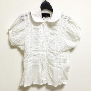 COMME des GARCONS - トリココムデギャルソン シャツブラウス S