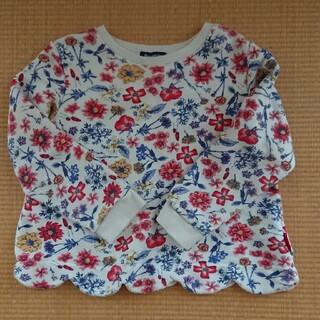 ムージョンジョン(mou jon jon)のムージョンジョン スクラップ 花柄トレーナー(Tシャツ/カットソー)