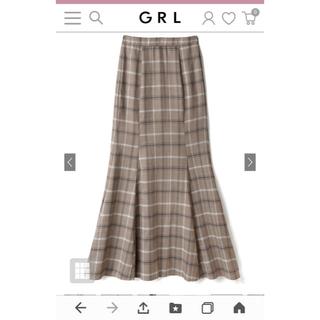 GRL - グレイル チェック柄 マーメイドスカート