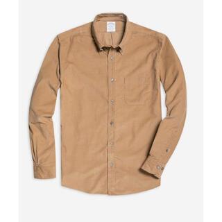 ブルックスブラザース(Brooks Brothers)の定価17600円 ブルックスブラザーズ 細畝コーデュロイガーメントダイシャツ S(シャツ)