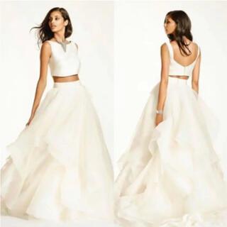 ヴェラウォン(Vera Wang)のDavid's  bridal セパレートドレス(ウェディングドレス)