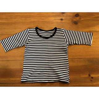 シマムラ(しまむら)の子供服 カットソー 7分袖 80㎝(シャツ/カットソー)