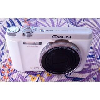 CASIO - CASIO EXILIM EX-ZR1300 コンデジ カメラ 自撮り ホワイト