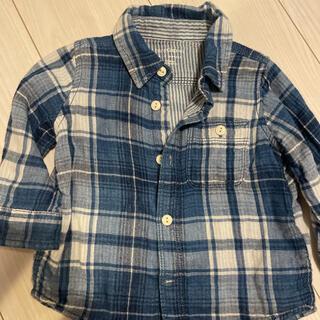 ベビーギャップ(babyGAP)のGAP チェックシャツ(シャツ/カットソー)