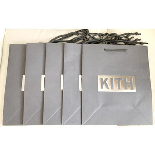 Supreme - KITH キス ショッパー ショップ袋 紙袋 5枚セット