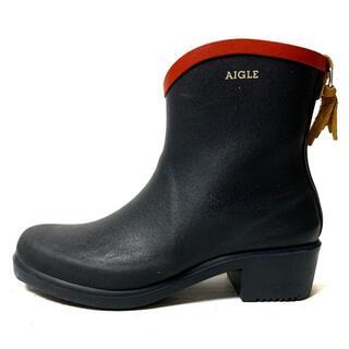 AIGLE - エーグル レインブーツ 37 レディース -