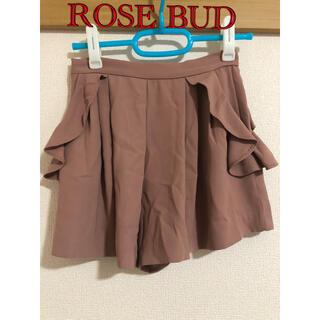 ローズバッド(ROSE BUD)のROSE BUD ショートパンツ(ショートパンツ)