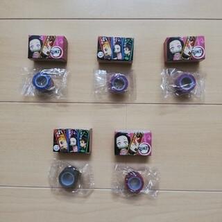 ユーハミカクトウ(UHA味覚糖)の鬼滅の刃 ぷっちょ  ロールテープ 5点セット(キャラクターグッズ)
