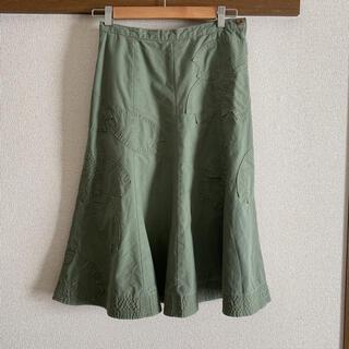 ケイタマルヤマ(KEITA MARUYAMA TOKYO PARIS)のお値下げ ケイタマルヤマ KEITA MARUYAMA パッチワーク スカート(ひざ丈スカート)