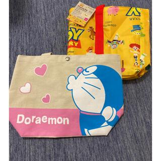 Disney - ドラえもんお弁当袋+トイストーリーカゴ用ショッピングバック