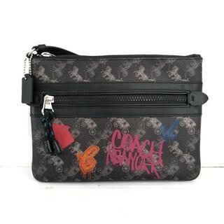 コーチ(COACH)のコーチ クラッチバッグ新品同様  - F84636(クラッチバッグ)