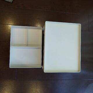 ムジルシリョウヒン(MUJI (無印良品))の無印良品 ABS樹脂デスクトップ収納(小物入れ)