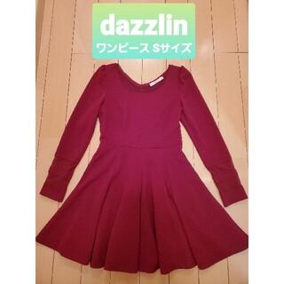 ダズリン(dazzlin)のdazzlin ワンピース Sサイズ(ミニワンピース)