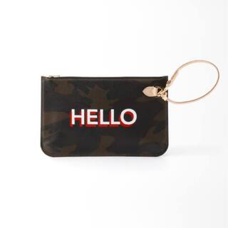 L'Appartement DEUXIEME CLASSE - Hello Bonjour Pouch ハロー ポーチ