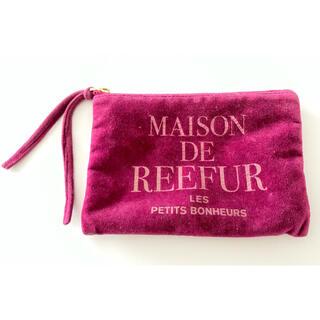 メゾンドリーファー(Maison de Reefur)のメゾンドリーファー ポーチ ベロア リーファー(ポーチ)