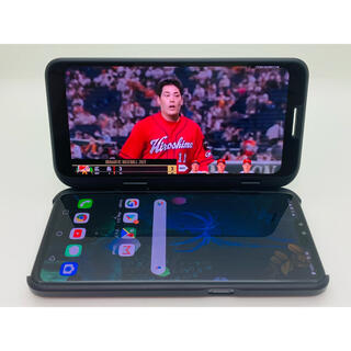 LG Electronics - [1278] LG V50 ThinQ 5G 128GB ブラック SIMフリー
