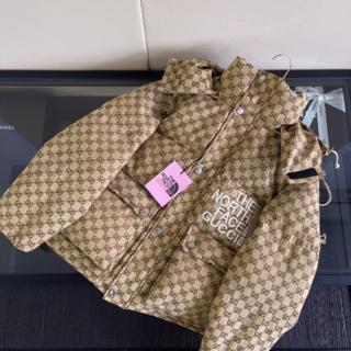 Gucci - Gucci  モノグラム ダウンジャケット