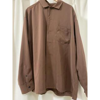 レイジブルー(RAGEBLUE)のシャツ ブラウス 茶色 ブラウン レイジブルー(シャツ)