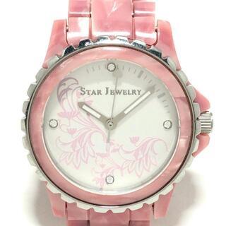 スタージュエリー(STAR JEWELRY)のスタージュエリー 腕時計 - フリー入力(腕時計)