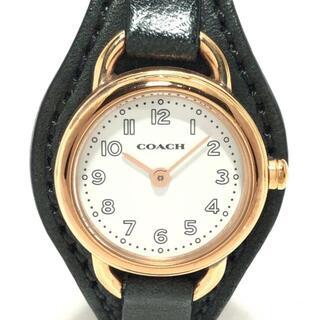 コーチ(COACH)のコーチ 腕時計 - CA.84.7.34.0931 白(腕時計)