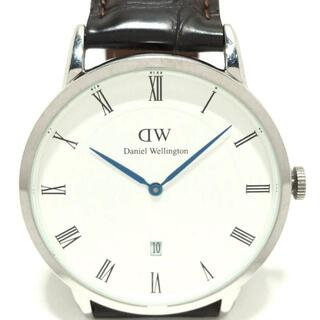 ダニエルウェリントン(Daniel Wellington)のダニエルウェリントン 腕時計 ダッパー 白(その他)