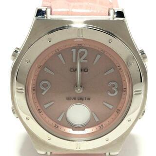 カシオ(CASIO)のカシオ 腕時計 LWA-M140 レディース ピンク(腕時計)