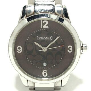 コーチ(COACH)のコーチ 腕時計 ミニシグネチャー柄 0292.1(腕時計)