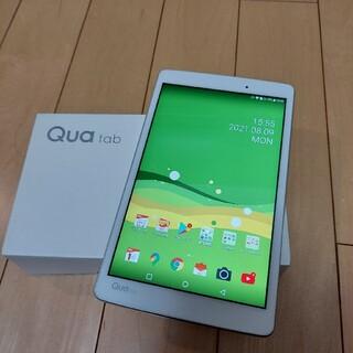 エルジーエレクトロニクス(LG Electronics)のau Qua tab PX LGT31 ホワイト(タブレット)